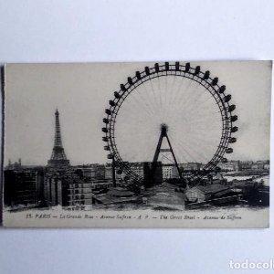 París La Grande Rue Noria Torre Eiffel