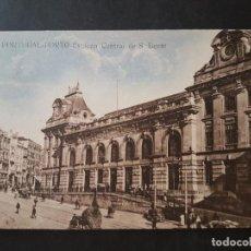 Postales: PORTO OPORTO PORTUGAL ESTACION CENTRAL. Lote 140853946
