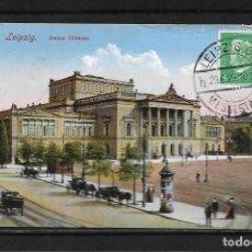 Postales: ALEMANIA 1929 TARJET POSTAL CIRCULADA DE LEIPZIG A COLOMBIA . Lote 142071518