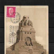 Postales: ALEMANIA 1929 TARJETA POSTAL CIRCULADA DE LEIPZIG A COLOMBIA . Lote 142071570