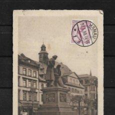 Postales: ALEMANIA 1930 TARJETA POSTAL CIRCULADA DE HANAN A COLOMBIA . Lote 142072182