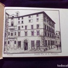 Postales: BLOC DE 24 POSTALES SCUOLE PIE DI S. PANTALEO ROMA. Lote 142287966