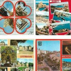 Postales: COLECCION DE 59 POSTALES ANTIGUAS DE FRANCIA TODAS NUEVAS MENOS 18 CIRCULADAS VER FOTOS. Lote 142454286