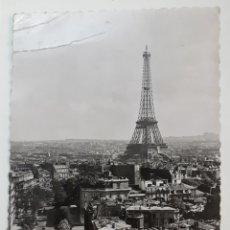 Postales: PARIS... EN FLANANT. LA TOUR EIFFEL. Lote 142830032