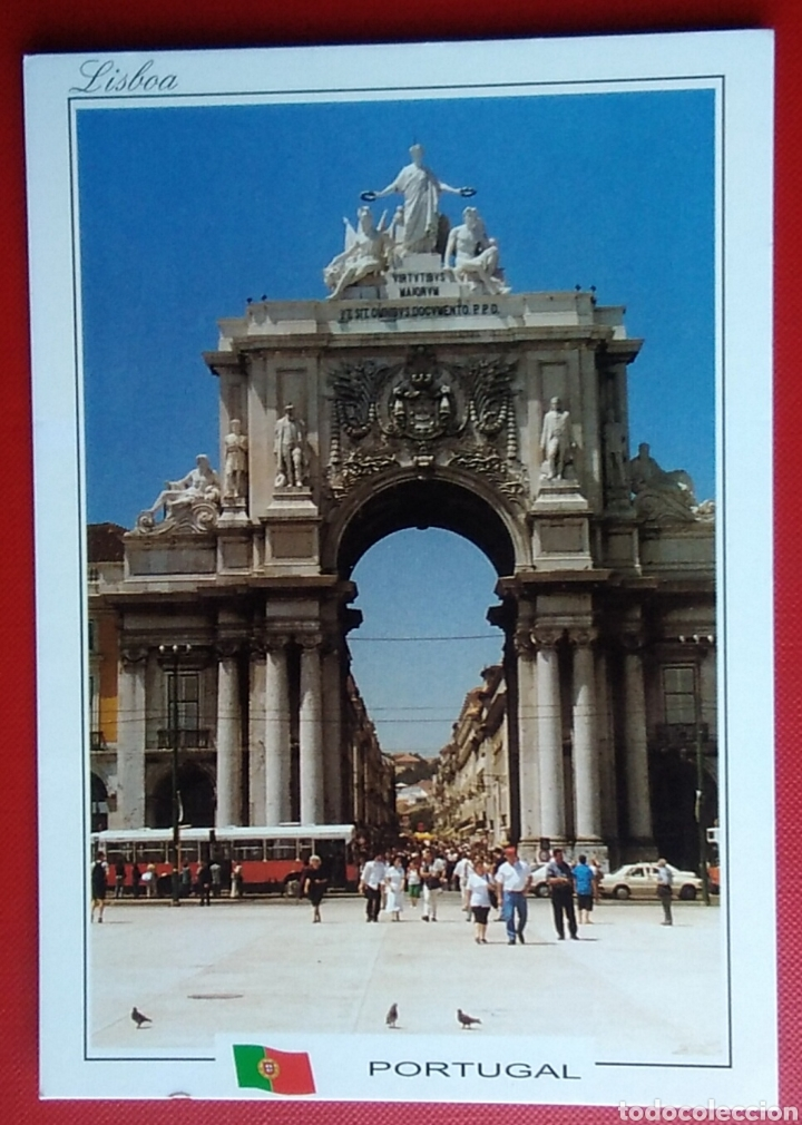 POSTAL PORTUGAL LISBOA ARCO DA RÚA AUGUSTA (Postales - Postales Extranjero - Europa)