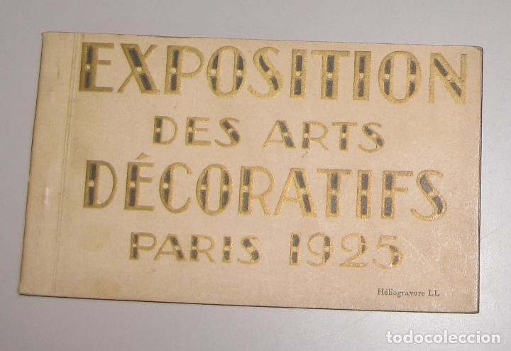 CARPETA COMPLETA DE POSTALES **EXPOSITION DES ARTS DECORATIFS PARIS 1925 (Postales - Postales Extranjero - Europa)