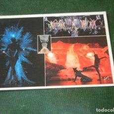Postales: FRANCIA POSTAL CABARET LIDO DE PARIS - BLUEBELL GIRLS . Lote 143034114