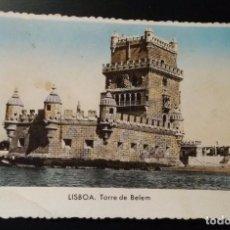 Postales: POSTAL LISBOA. TORRE DE BELEM . Lote 143115702