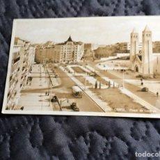Postales: POSTAL CIRCULADO, LISBOA, PRAÇA DE LONDRES. AÑO 1955. Lote 143131666