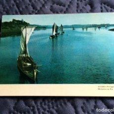 Postales: POSTAL CIRCULADO - AVEIRO - PORTUGAL, MOLICEIRO NA RIA -AÑO 1965. Lote 143165506