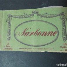 Postales: 10 DE 12 TARJETAS POSTALES. NARBONNE. FRANCIA. CARTES DÉTACHABLES. FRANCE . Lote 143671378