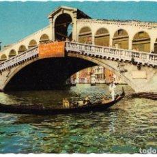 Postales: == X765 - POSTAL - VENEZIA - PUENTE DE RIALTO. Lote 143838474