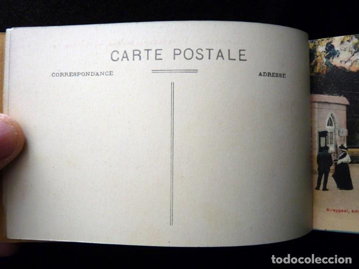 Postales: ALBUM SOUVENIR LOURDES, 12 POSTALES COLOREADAS. ED. SIREYGEOL. AÑOS 20. NUEVO Y PERFECTO - Foto 4 - 144158218
