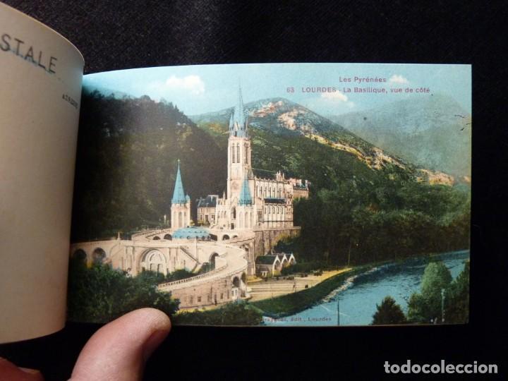 Postales: ALBUM SOUVENIR LOURDES, 12 POSTALES COLOREADAS. ED. SIREYGEOL. AÑOS 20. NUEVO Y PERFECTO - Foto 5 - 144158218