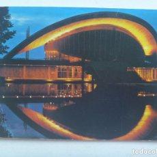 Postales: POSTAL DE BERLIN ( ALEMANIA ): PALACIO DE CONGRESO. AÑOS 60. CIRCULADA EN 1972 ESPAÑOL EN FINLANDIA. Lote 144237522