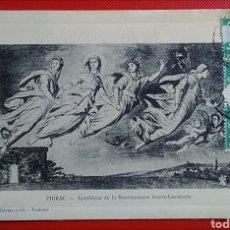 Postales: POSTAL FRANCIA TOULOUSE PIBRAC APOTHEOSE DE LA BIENHEUREUSE SAINTE GERMAINE. Lote 144411242