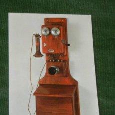 Postales: SUIZA - BERNA MUSEO POSTAL CORREOS 3 TELEFONO MURAL BL. HASLER. Lote 144777922