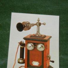 Postales: SUIZA - BERNA MUSEO POSTAL CORREOS 5 TELEFONO DE MESA BL HASLER. Lote 144778094
