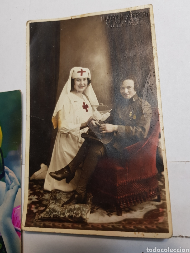 Postales: Lote postales antiguas años 20 lote 5 - Foto 2 - 145104426