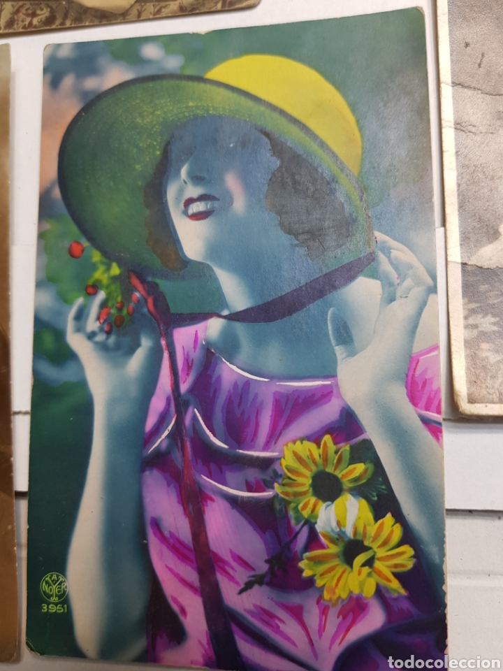 Postales: Lote postales antiguas años 20 lote 5 - Foto 3 - 145104426
