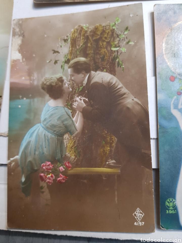 Postales: Lote postales antiguas años 20 lote 5 - Foto 4 - 145104426