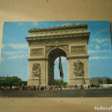 Postales: FRANCIA PARIS ARCO DEL TRIUNFO CIRCULADA. Lote 145258498