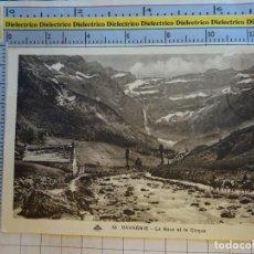 Postales: POSTAL DE FRANCIA AÑOS 10 30. GAVARNIE LE GAVE ET LE CIRQUE. ARRIEROS 1837. Lote 145262122