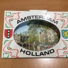 Postales: LIBRO 10 POSTALES AMSTERDAM HOLANDA. Lote 145340656