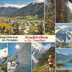Postales: URLAUBSGRÜSSE AUS IM PINZGAU. NEUKIRCHEN AM GROSSVENEDIGER. Lote 145951346
