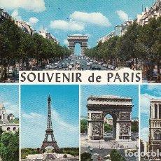 Postales: SOUVENIR DE PARIS. Lote 145953474