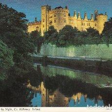 Postales: KILKENNY CASTLE BY NIGHT. Lote 145956090
