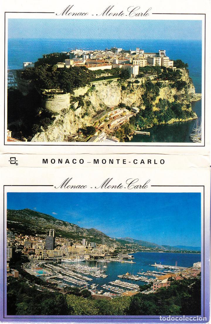 M - MONACO - MONTECARLO - LIBRO DE 15 POSTALES (Postales - Postales Extranjero - Europa)