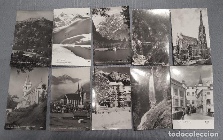 Postales: LOTE 100 POSTALES DE AUSTRIA - LOT POSTKARTEN ÖSTERREICH - Ver fotos - Foto 7 - 146313146