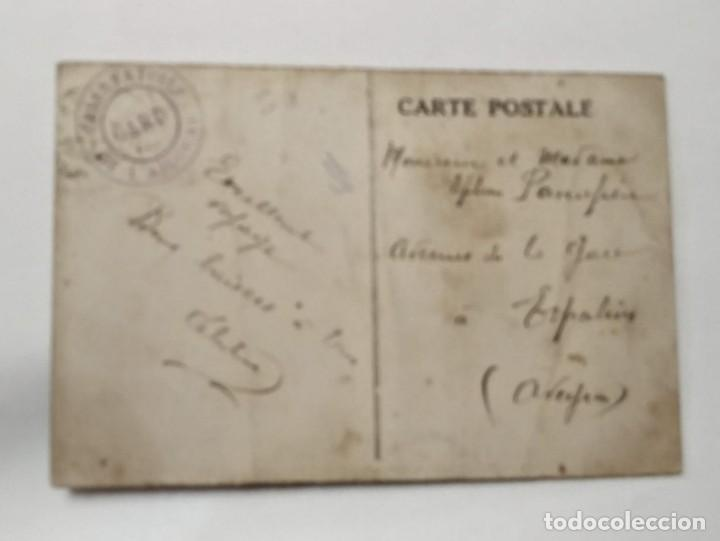 Postales: MONT AIGOUAL MER DE NUAGES VUE DE LA TERRASSE DU GRAND HOTEL PAR VALLERAUGUE, GARD CIRCULADA - Foto 2 - 146385302
