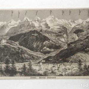 21443 Berner Oberland postal antigua