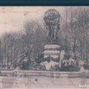 Postales: POSTAL PARIS - FONTAINE DE L'OBSERVATOIRE - CIRCULADA. Lote 146475810