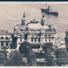 Postales: POSTAL MONTE CARLO - LE CASINO - MUNIER 281 - CIRCULADA - MONACO. Lote 146477326
