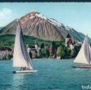 Postales: POSTAL SUIZA - SPIEZ MIT NIESEN - PHOTOGLOB WEHRLI 132. Lote 146512310