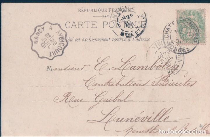Postales: POSTAL PARIS - LE LION DE BELFORT - CIRCULADA - SIN DIVIDIR - Foto 2 - 146515814