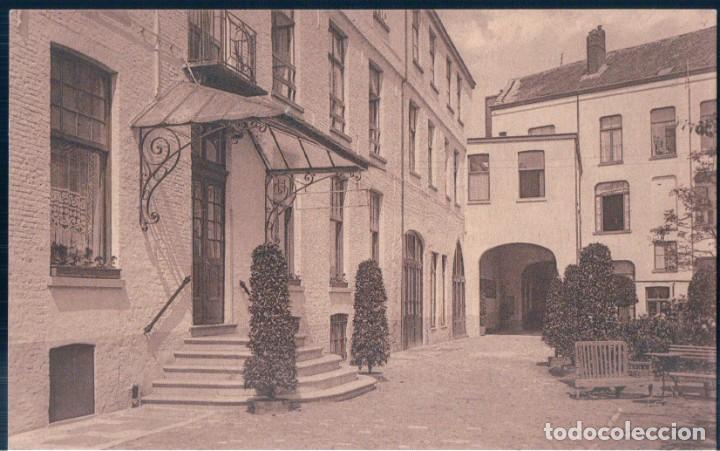 POSTAL BELGICA - BRUGES - HOTEL VERRIEST - ENTREE DE L'HOTEL - NELS (Postales - Postales Extranjero - Europa)