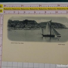 Postales: POSTAL DE REINO UNIDO. SIGLO XIX - 1905. HASTINGS VIEW FROM THE PIER. 1872. Lote 147105630