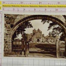 Postales: POSTAL DE REINO UNIDO. AÑOS 30 50. LANERCOST GATEWAY & PRIORY BRAMPTON. 1877. Lote 147105970