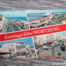 Postales: 6088 GREAT BRITAIN ROYAUME UNI REINO UNIDO ENGLAND INGLATERRA SUSSEX GREETINGS FROM WORTHING. Lote 147106462