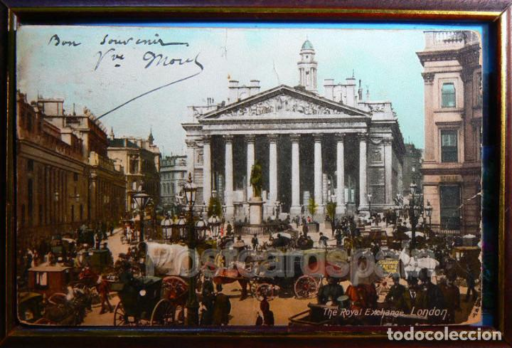 LONDON - THE ROYAL EXCHANGE - POSTAL LONDRES 1905 (Postales - Postales Extranjero - Europa)