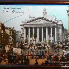 Postales: LONDON - THE ROYAL EXCHANGE - POSTAL LONDRES 1905. Lote 147279958