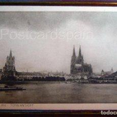 Postales: TOTALANSICHT KÖLN A. RH. POSKARTE. Lote 147280790
