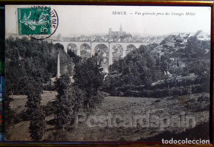 SEMUR - VUE GENERALE PRISE DES GRANGES MILLOT - CARTE POSTALE (Postales - Postales Extranjero - Europa)