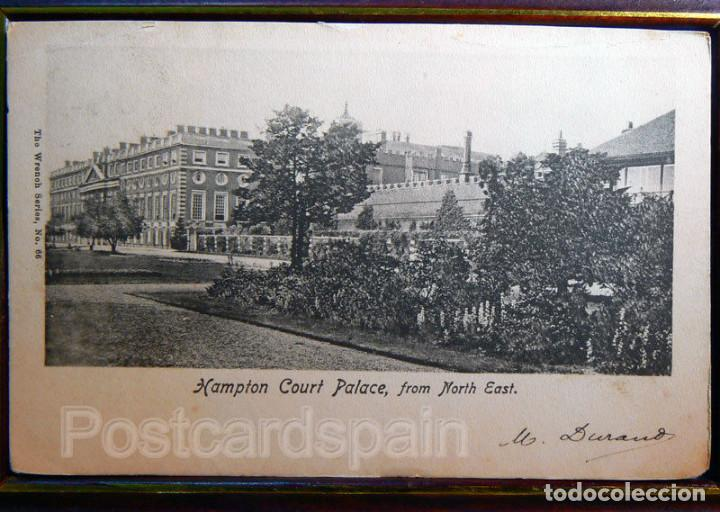 HAMPTON COURT PALACE FROM NOETH EAST (Postales - Postales Extranjero - Europa)