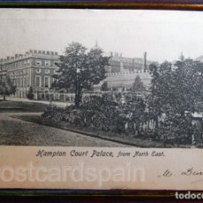 Postales: HAMPTON COURT PALACE FROM NOETH EAST. Lote 147283318