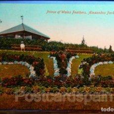 Postales: PRINCE OF WALES FEAIHERS - ALEXANDRA PARK - PENARTH. Lote 147283970